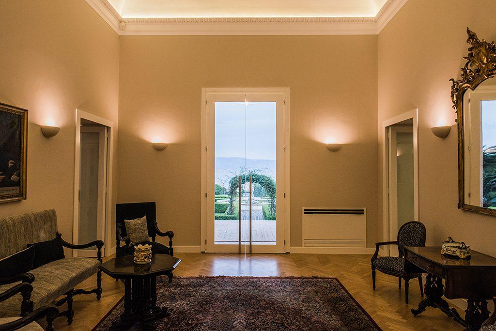 Saloni degli affreschi villa pulejo eventi resort spa for Saloni interni
